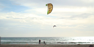 Outdoor sport kite surfen