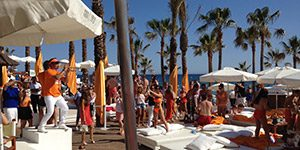 Nikki beach-club Marbella