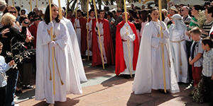 De hele Paasweek zijn er Semana Santa activeiten