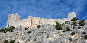 Jaen kasteel Santa Catalina