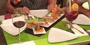 Culinaire luxe tapas in Mo Gastrotapas