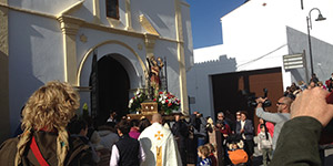 San Sebastian processie in Competa