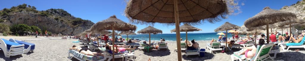 Almuñecar beach life
