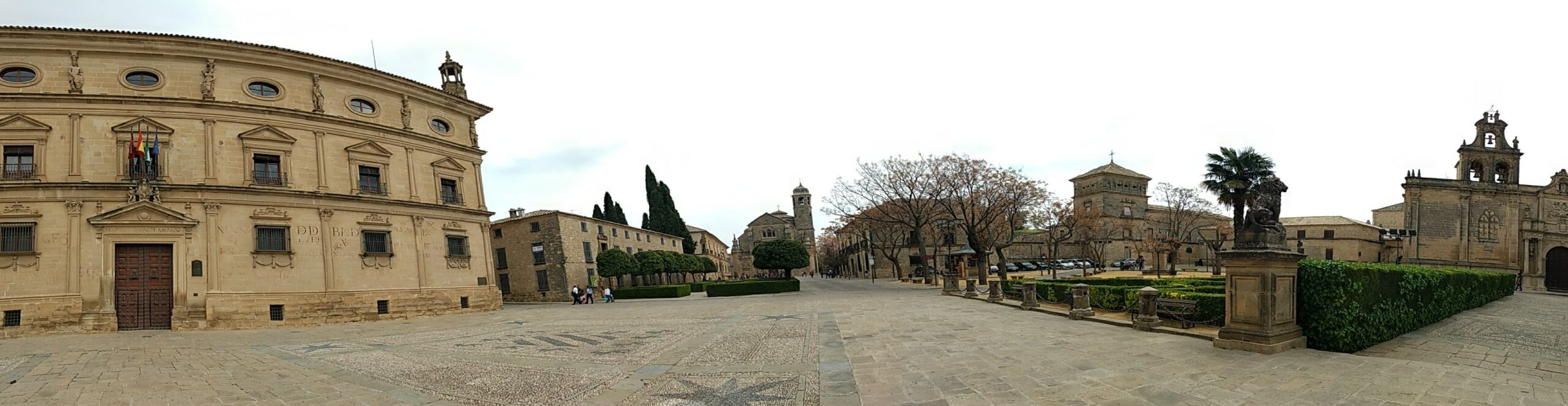 De middeleeuwse binnenstad van Ubeda
